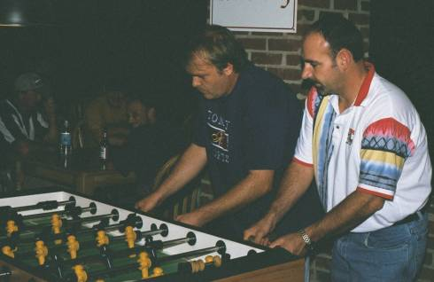 Alabama State Champs of open doubles in 2000, Steve Dodgen & Rodney Jenkins