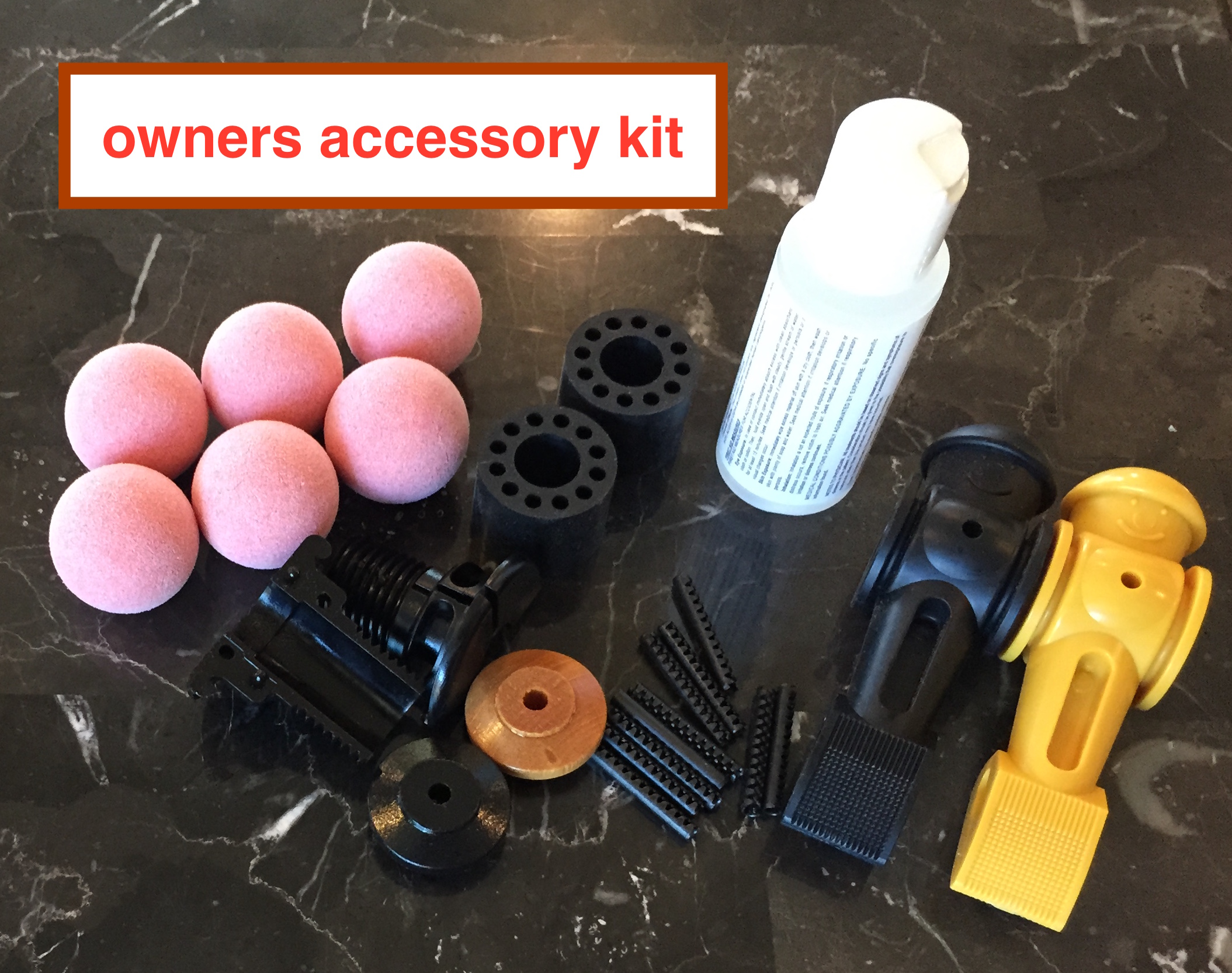 Owner Accessory Kit